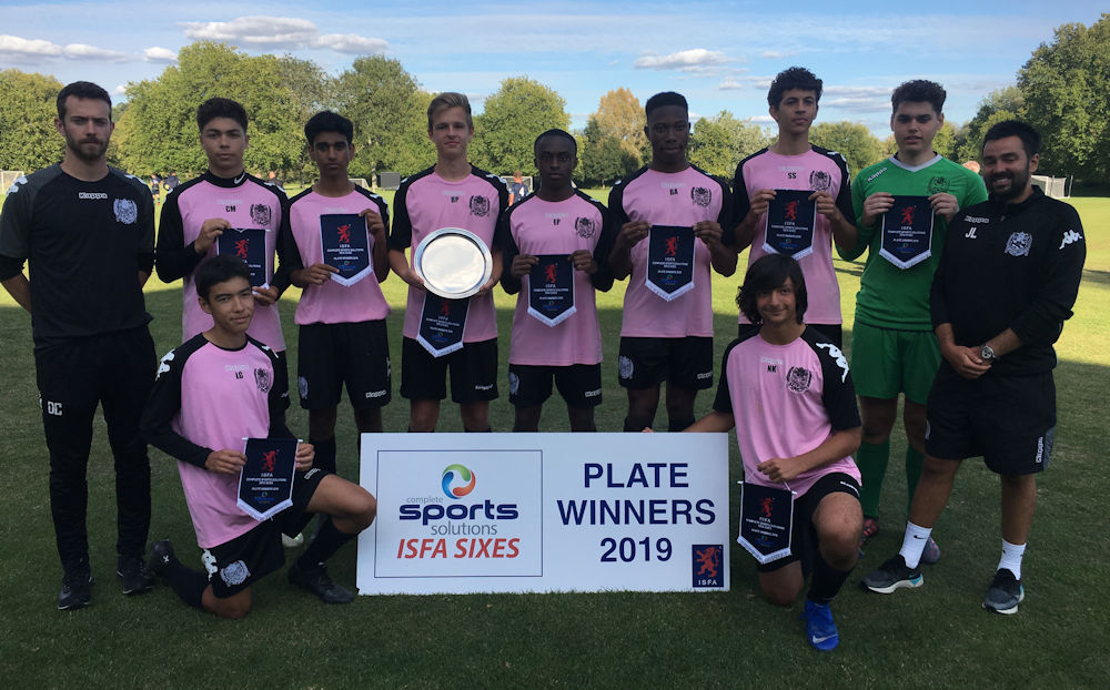 Westminster - Plate Winners 2019