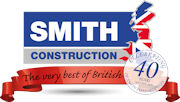 SmithConstruction40yearslogo180