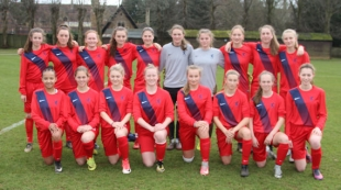 ISFA GIRLS NATIONAL U16 REPRESENTATIVE SQUAD